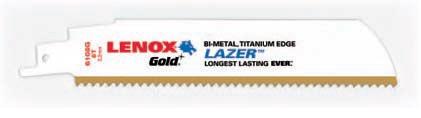 Panza sabie LENOX Gold™ LAZER™ pentru metal 5 buc/set
