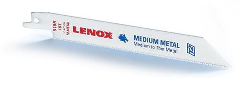 Panza sabie LENOX Bi-Metal 5 buc/set