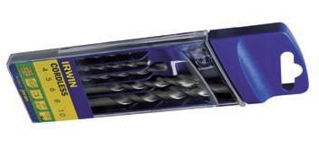 Set burghie cu coada cilindrica multimaterial