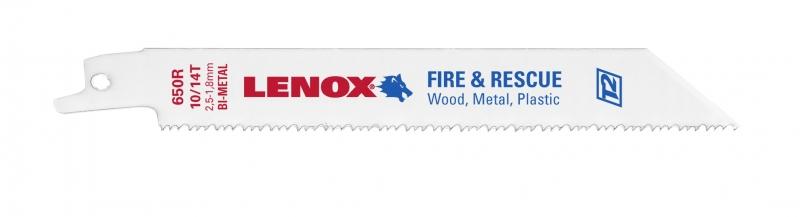Panze lemn si plastic 650R 150 mm 10-14 TPI  Lenox de la Unior Tepid