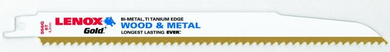 Panze LENOX Gold 956G  225 mm 6TPI Lenox de la Unior Tepid