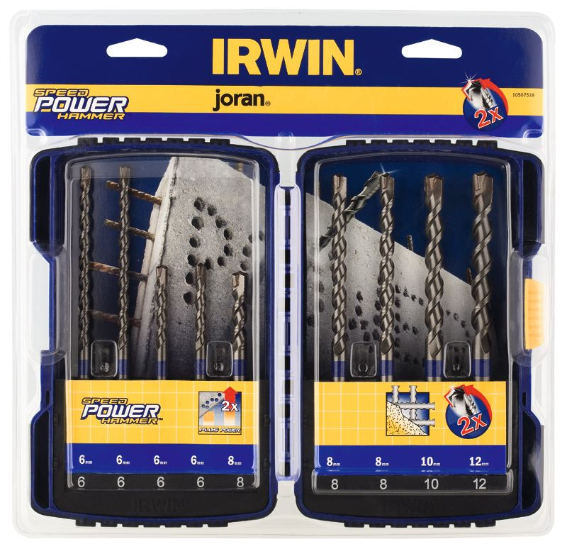 Set burghie pentru beton SpeedHammer Power™ Irwin de la Unior Tepid