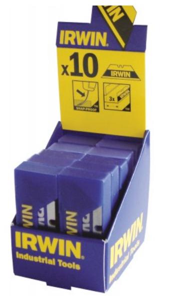 Set lame trapezoidale Bi-Metal Blue - 10 x 10 lame