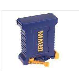 Set lame trapezoidale de securitate Bi-Metal Blue - 50 lame