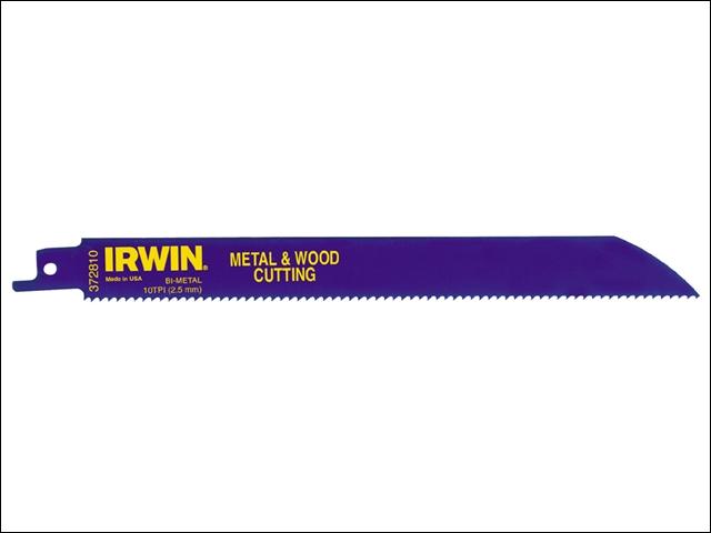 Set 25 panze sabie pentru metal si lemn Bi-Metal Irwin de la Unior Tepid